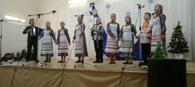 Благотворительный концерт «Рождество добрых дел» в с. Первомайский